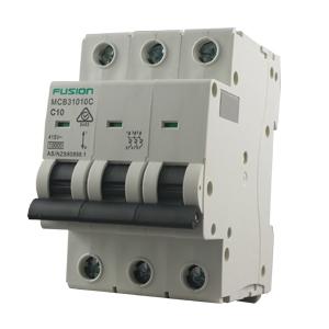 circuit breaker 3 pole 10a 10ka c curve