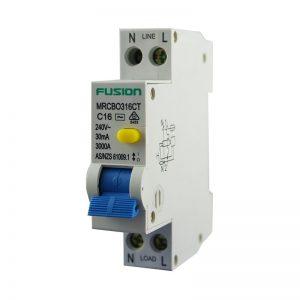25A Mini RCBO Trade 1P+N 3kA 250V AC 30mA